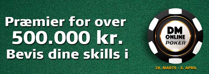 Jeg er klar til Online DM i Poker